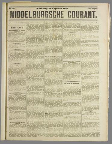 Middelburgsche Courant 1925-08-26