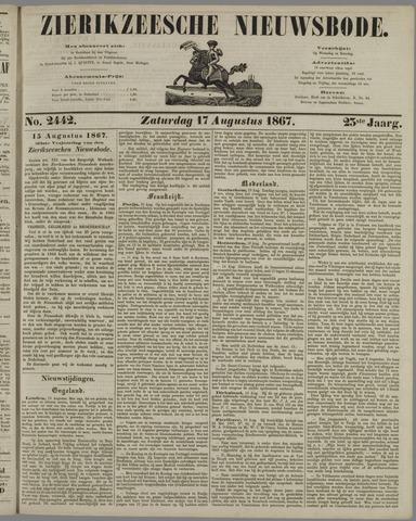 Zierikzeesche Nieuwsbode 1867-08-17