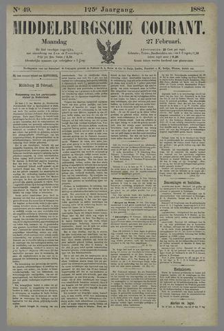 Middelburgsche Courant 1882-02-27
