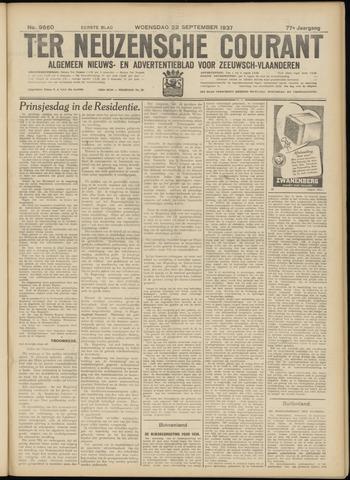 Ter Neuzensche Courant. Algemeen Nieuws- en Advertentieblad voor Zeeuwsch-Vlaanderen / Neuzensche Courant ... (idem) / (Algemeen) nieuws en advertentieblad voor Zeeuwsch-Vlaanderen 1937-09-22