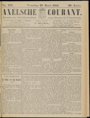 Axelsche Courant 1911-03-29