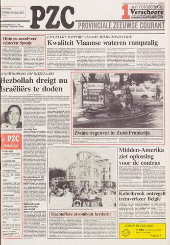 Provinciale Zeeuwse Courant 1989-08-07