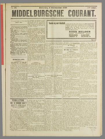 Middelburgsche Courant 1927-11-05