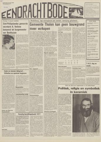 Eendrachtbode (1945-heden)/Mededeelingenblad voor het eiland Tholen (1944/45) 1978