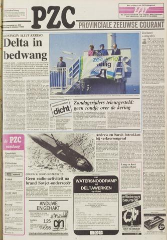 Provinciale Zeeuwse Courant 1986-10-06
