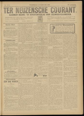 Ter Neuzensche Courant. Algemeen Nieuws- en Advertentieblad voor Zeeuwsch-Vlaanderen / Neuzensche Courant ... (idem) / (Algemeen) nieuws en advertentieblad voor Zeeuwsch-Vlaanderen 1932-02-03
