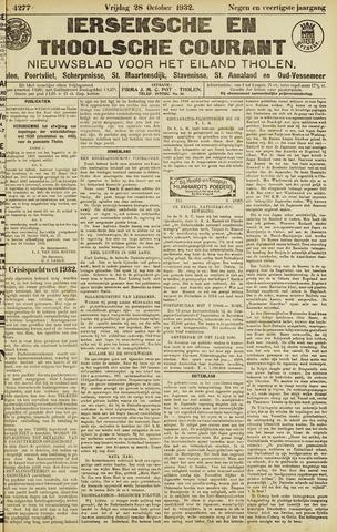 Ierseksche en Thoolsche Courant 1932-10-28