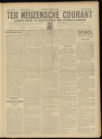 Ter Neuzensche Courant. Algemeen Nieuws- en Advertentieblad voor Zeeuwsch-Vlaanderen / Neuzensche Courant ... (idem) / (Algemeen) nieuws en advertentieblad voor Zeeuwsch-Vlaanderen 1935-05-31