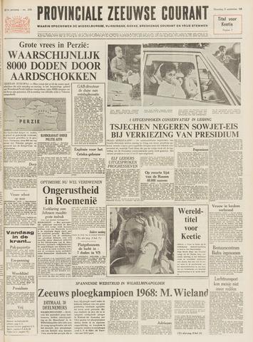 Provinciale Zeeuwse Courant 1968-09-02