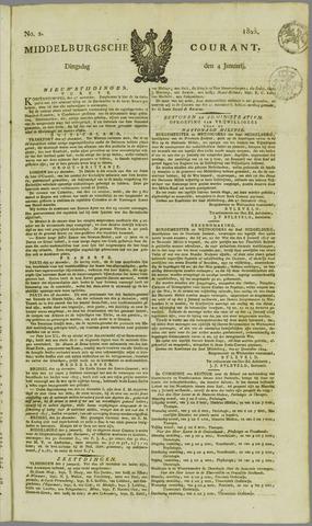 Middelburgsche Courant 1825-01-04
