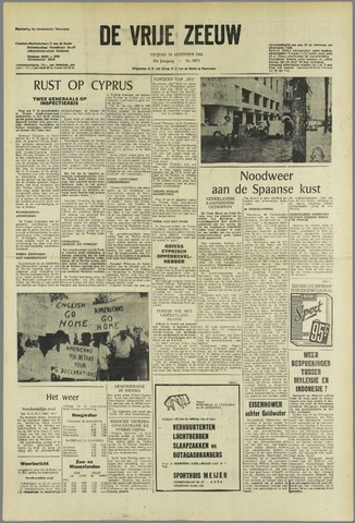 de Vrije Zeeuw 1964-08-14