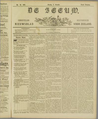 De Zeeuw. Christelijk-historisch nieuwsblad voor Zeeland 1895-12-03