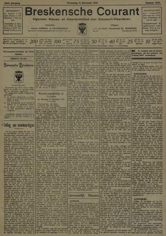 Breskensche Courant 1930-12-31