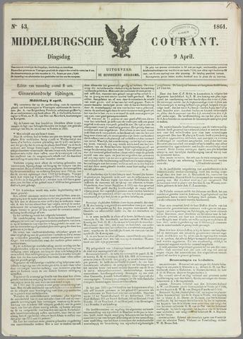 Middelburgsche Courant 1861-04-09