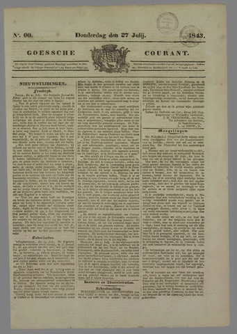 Goessche Courant 1843-07-27