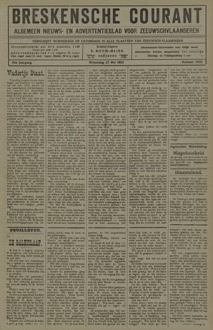 Breskensche Courant 1925-05-27