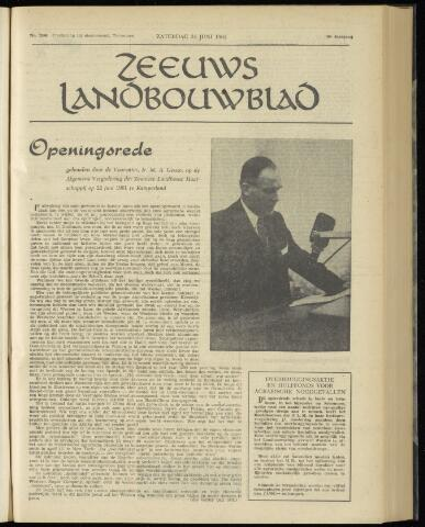 Zeeuwsch landbouwblad ... ZLM land- en tuinbouwblad 1961-06-24