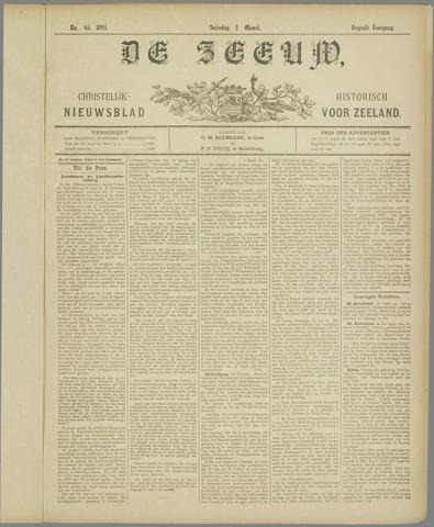 De Zeeuw. Christelijk-historisch nieuwsblad voor Zeeland 1895-03-02