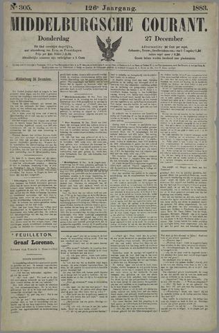 Middelburgsche Courant 1883-12-27