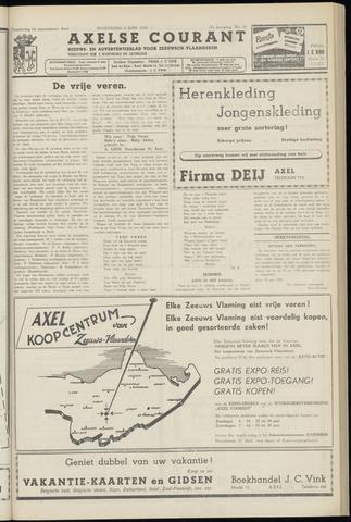 Axelsche Courant 1958-06-04