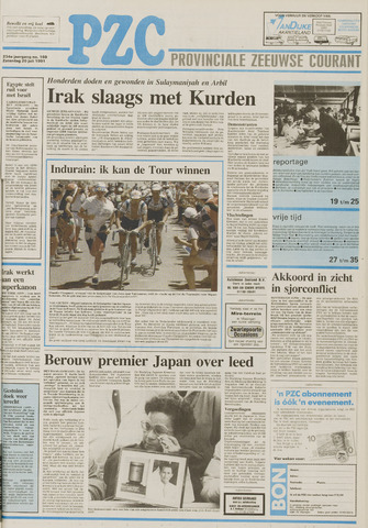 Provinciale Zeeuwse Courant 1991-07-20