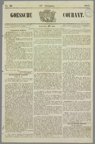 Goessche Courant 1857-05-25
