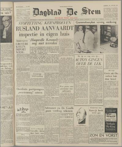 de Stem 1963-01-22