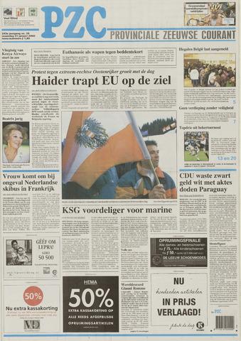 Provinciale Zeeuwse Courant 2000-01-31