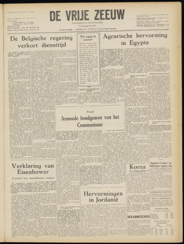 de Vrije Zeeuw 1952-08-14