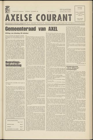Axelsche Courant 1969-11-01