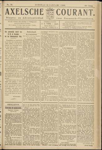 Axelsche Courant 1926-01-12
