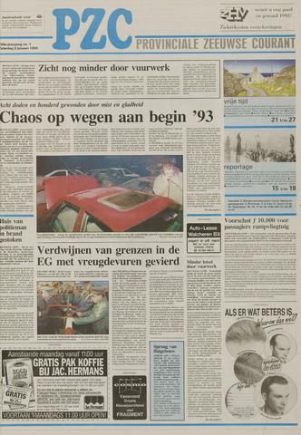 Provinciale Zeeuwse Courant 1993-01-02