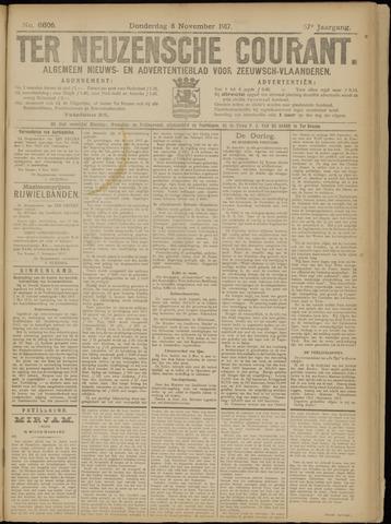 Ter Neuzensche Courant. Algemeen Nieuws- en Advertentieblad voor Zeeuwsch-Vlaanderen / Neuzensche Courant ... (idem) / (Algemeen) nieuws en advertentieblad voor Zeeuwsch-Vlaanderen 1917-11-08