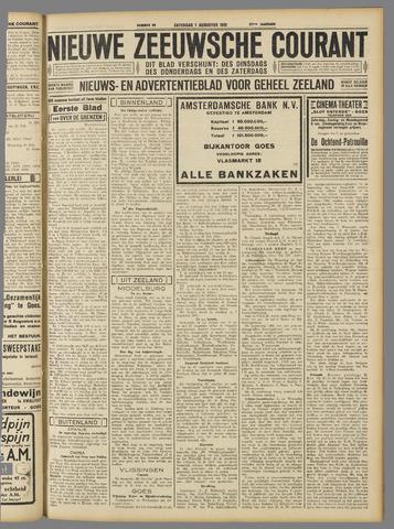 Nieuwe Zeeuwsche Courant 1931-08-01
