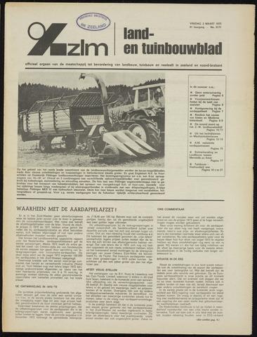 Zeeuwsch landbouwblad ... ZLM land- en tuinbouwblad 1973-03-02