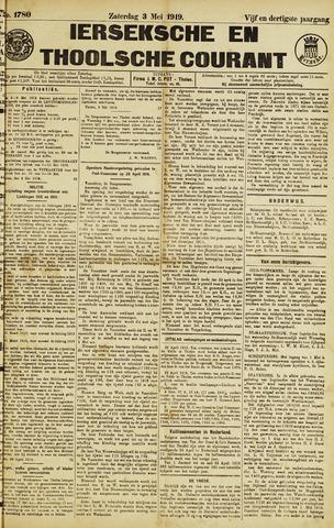 Ierseksche en Thoolsche Courant 1919-05-03