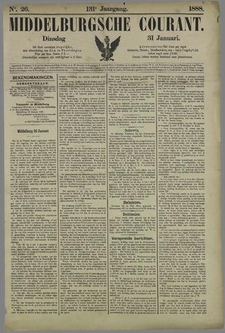 Middelburgsche Courant 1888-01-31