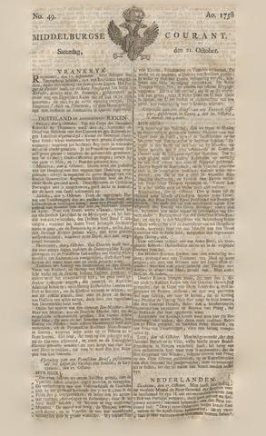 Middelburgsche Courant 1758-10-21