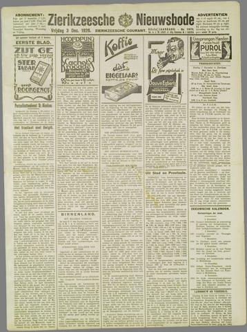 Zierikzeesche Nieuwsbode 1926-12-03