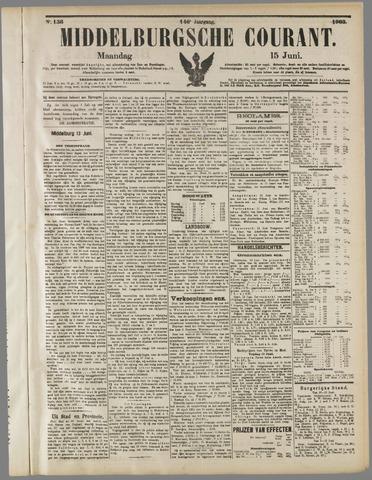 Middelburgsche Courant 1903-06-15