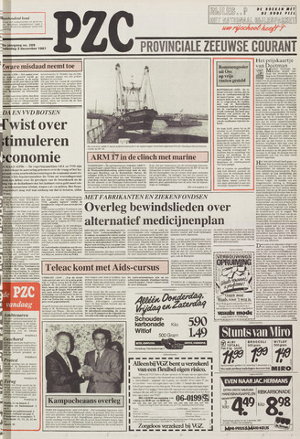 Provinciale Zeeuwse Courant 1987-12-03