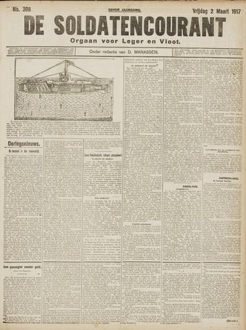De Soldatencourant. Orgaan voor Leger en Vloot 1917-03-02