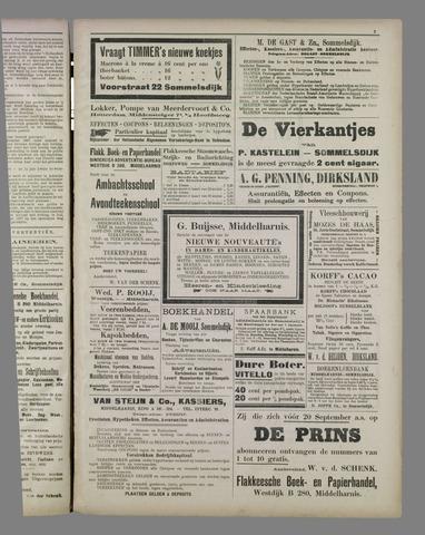 """""""Vooruit!""""Officieel Nieuws- en Advertentieblad voor Overflakkee en Goedereede 1911-09-16"""
