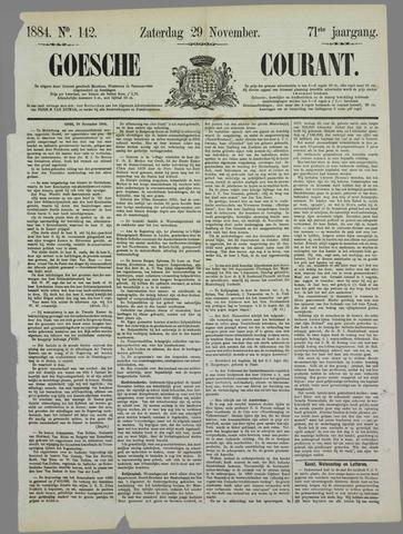 Goessche Courant 1884-11-29