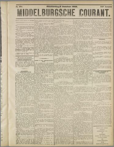 Middelburgsche Courant 1922-10-05