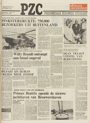 Provinciale Zeeuwse Courant 1973-06-12