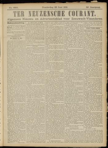 Ter Neuzensche Courant. Algemeen Nieuws- en Advertentieblad voor Zeeuwsch-Vlaanderen / Neuzensche Courant ... (idem) / (Algemeen) nieuws en advertentieblad voor Zeeuwsch-Vlaanderen 1919-06-26