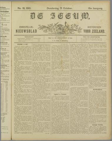 De Zeeuw. Christelijk-historisch nieuwsblad voor Zeeland 1901-10-31
