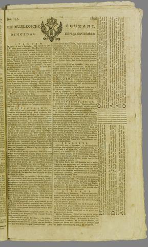 Middelburgsche Courant 1806-09-30