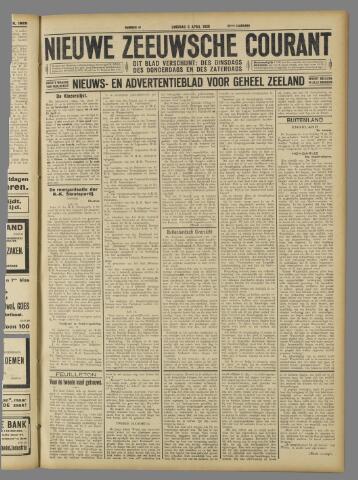Nieuwe Zeeuwsche Courant 1926-04-06